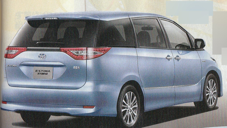 new car release april 2016Toyota Estima new model will be released in April 2016  Trust